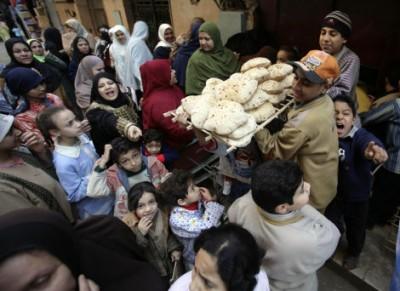 Emeutes de la faim Egypte