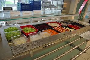 Lycée Vadepied Evron Bar à salade