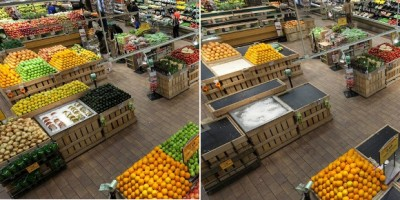 supermarché avec ou sans abeilles