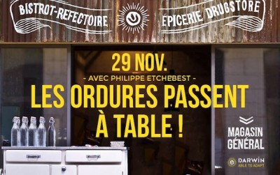 Les ordures passent à table
