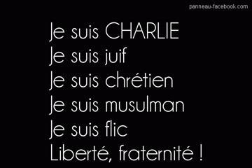 Je suis Charlie, juif, flic
