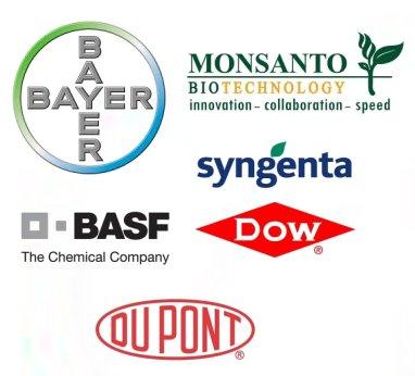 Logos principales firmes semences et agrochimiques